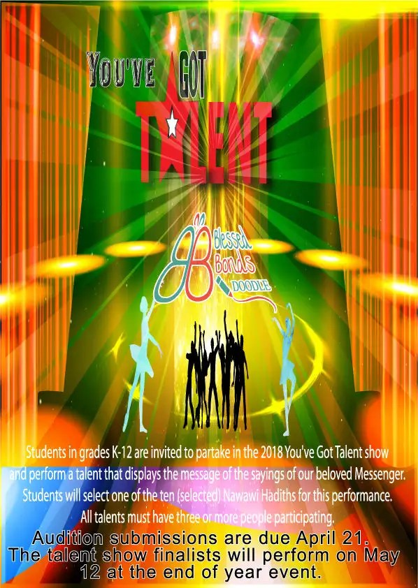 Entry #41 by Mamunorrashid485 for Design a Flyer - Talent Show