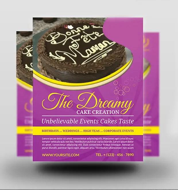 Entry #57 by Akheruzzaman2222 for Cake Flyer Freelancer