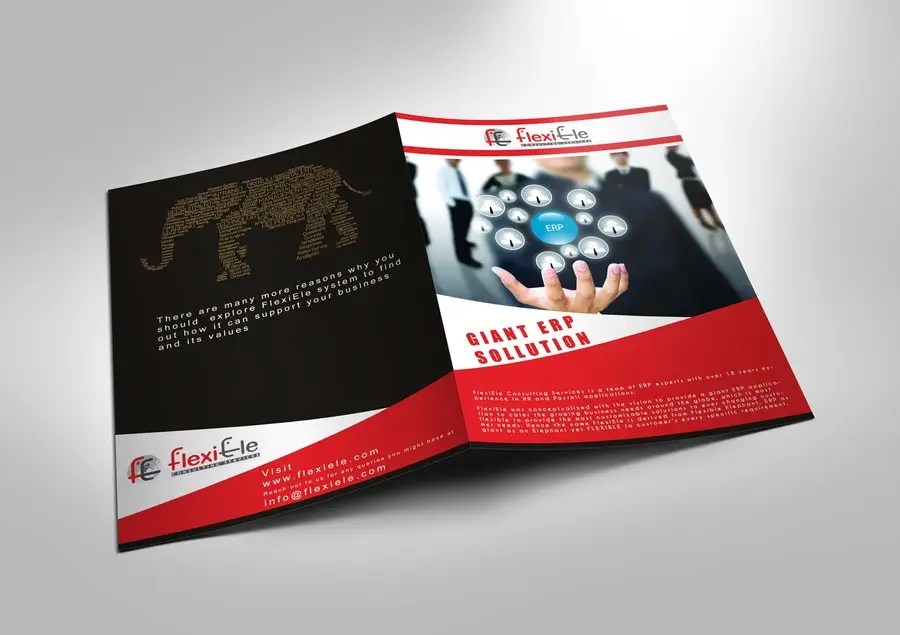 Design a Brochure for Our HR Software Product Freelancer