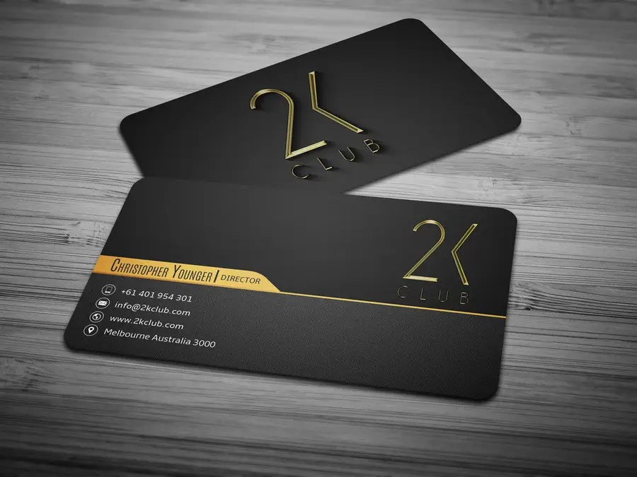 Entry #5 by anikush for Design some Business Cards for a social club - club card design