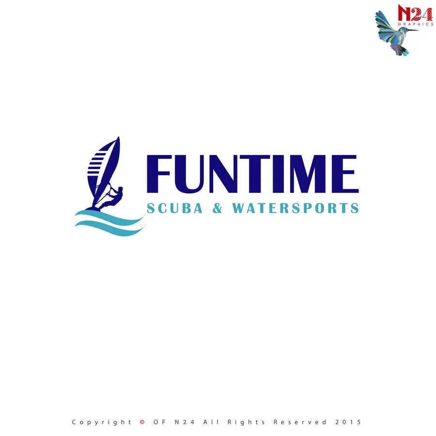 N24 D Entry 64 By N24 For Design A Logo For Funtime Scuba Watersports