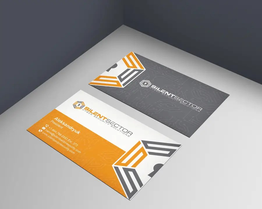Entry #59 by mamun313 for Business Cards and PPT Template for Cyber