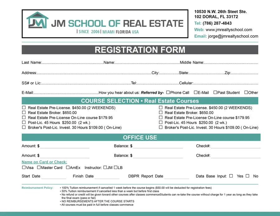 Entry #8 by teAmGrafic for Design a School Office Form Template