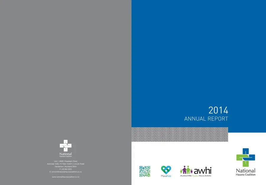Design an Annual Report Template for Healthcare NGO Freelancer