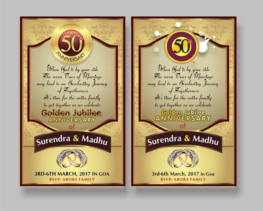 Entry #52 by dekaszhilarious for Invitation Card design Freelancer
