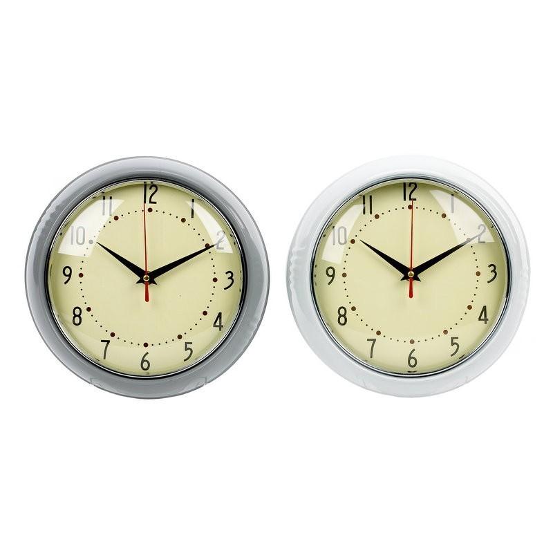 Retro Metal Wall Clock