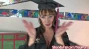 Kinky Milf Shanda Fay College Graduation BJ!