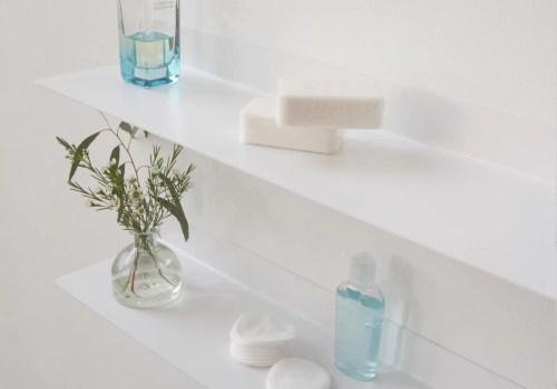 Medium Of Bathroom Wall Shelf
