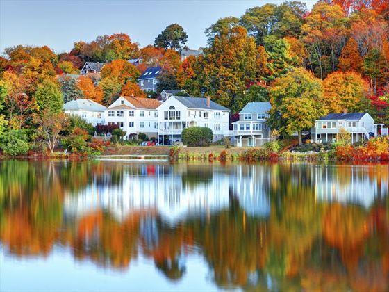 Michigan Fall Colors Wallpaper Self Drive New England Amp Niagara Falls Boston
