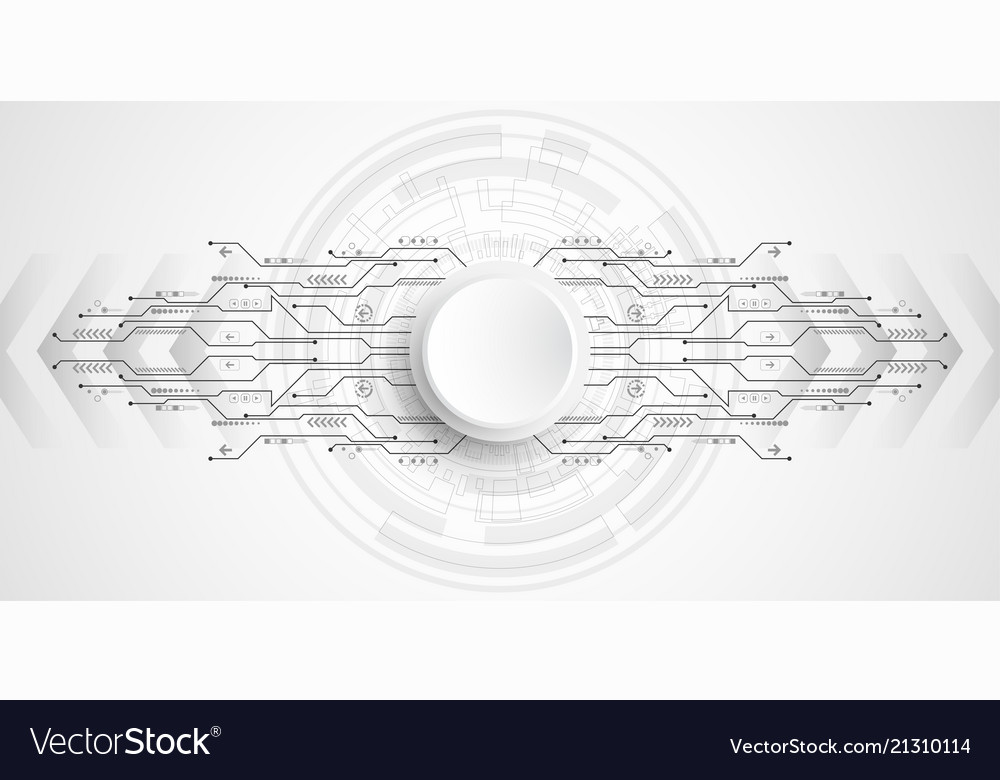 Background technology circuit design Royalty Free Vector