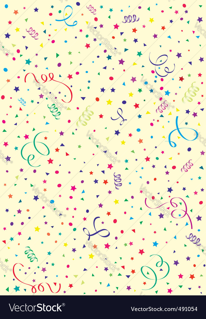 Birthday background Royalty Free Vector Image - VectorStock