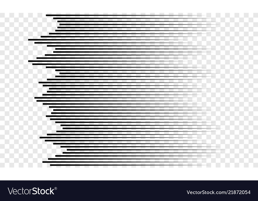 Horizontal speed lines pattern background Vector Image