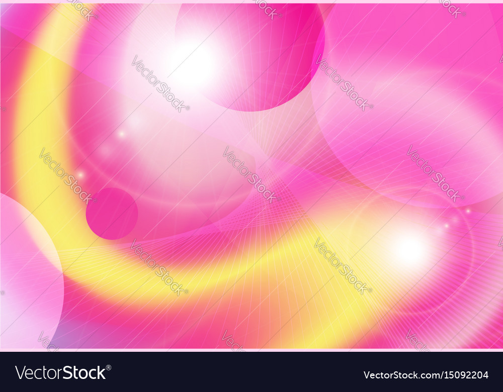 Background yellow pink Royalty Free Vector Image