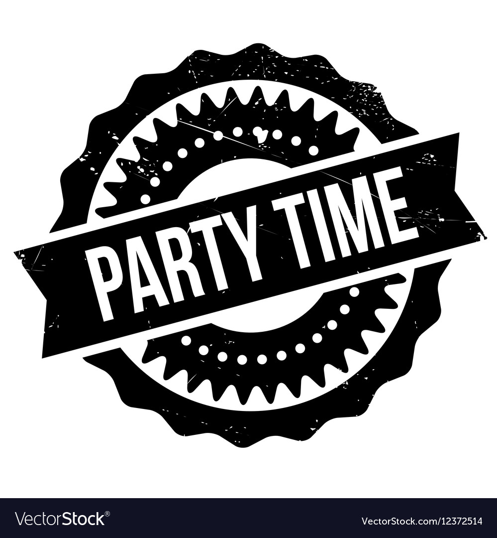 Party Time Party Time Stamp