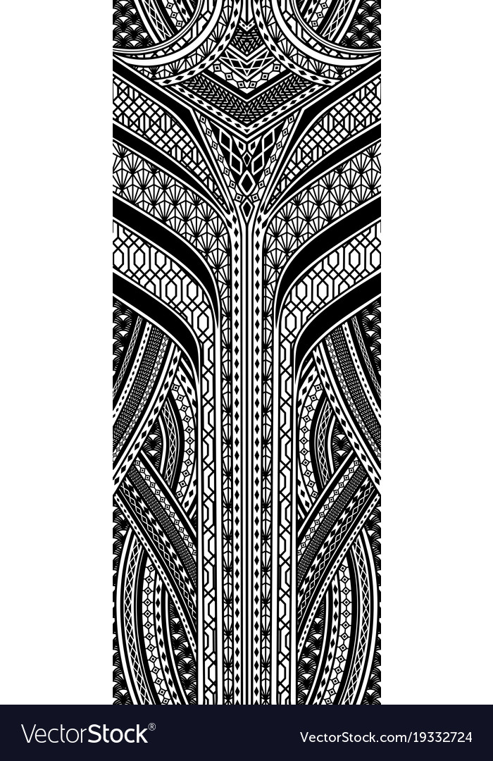 Art deco geometric pattern Royalty Free Vector Image