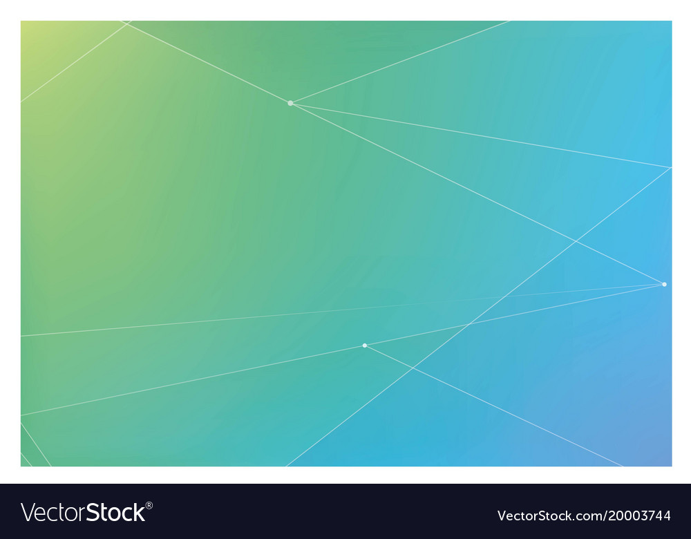 Background with blue and green hue and stripes Vector Image
