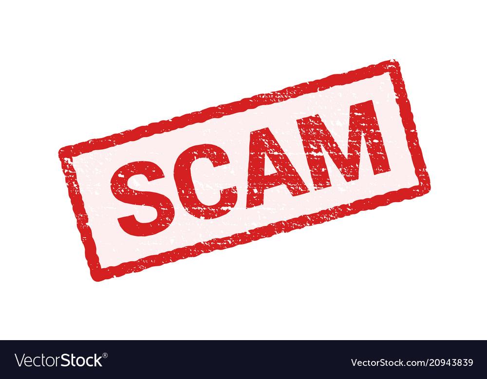 Red Vector Scam - #1 Clip Art  Vector Site \u2022 - vector scams