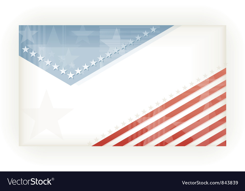 Stars and Stripes background Royalty Free Vector Image