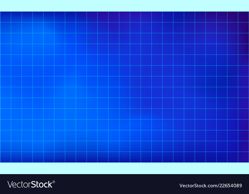 Graph paper grid lines blue color background Vector Image