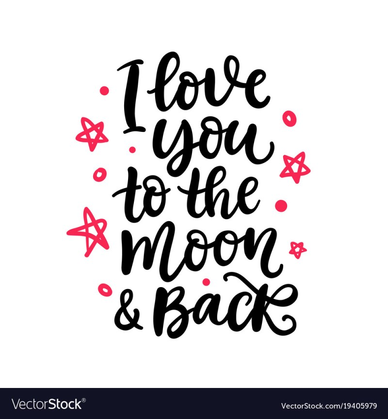 Large Of Moon And Back