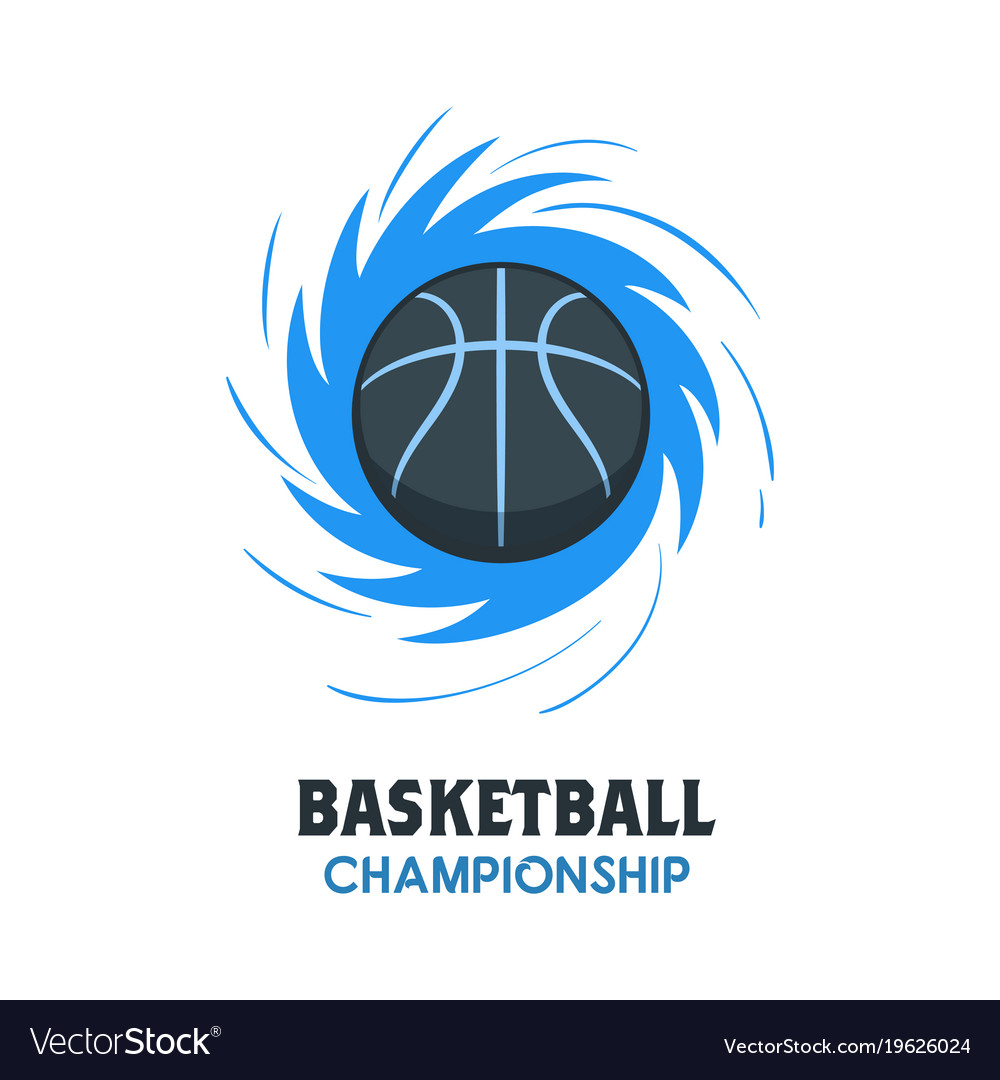 Basketball Ball Silhouette Of Basketball Ball Basketball Logo Vector Image On Vectorstock