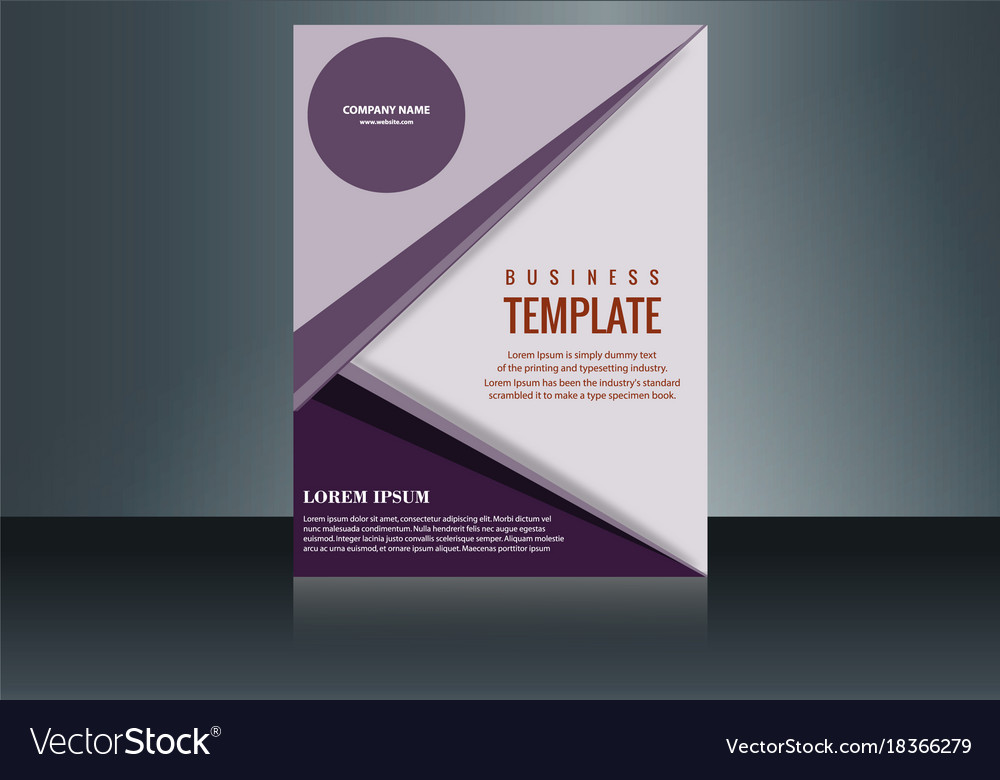 Vertical business card print template personal Vector Image - vertical business card