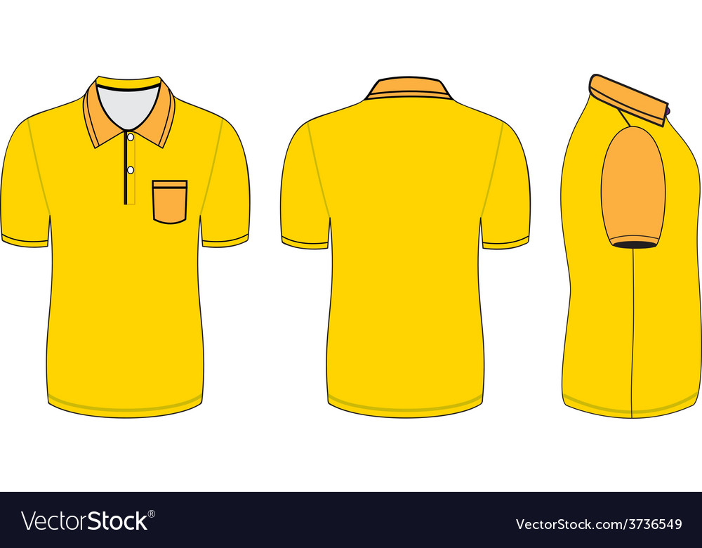 Polo shirt design templates Royalty Free Vector Image