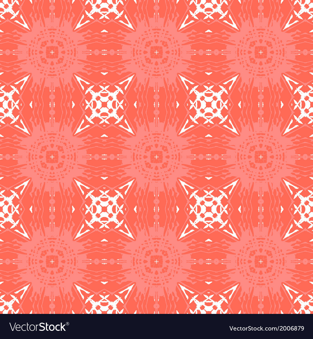 Geometric Art Deco Pattern With Organic Shapes Vector Image
