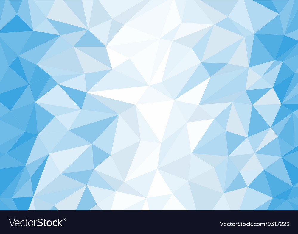 Art Design Wallpaper Hd Abstract Blue And White Polygon Background Vector Image