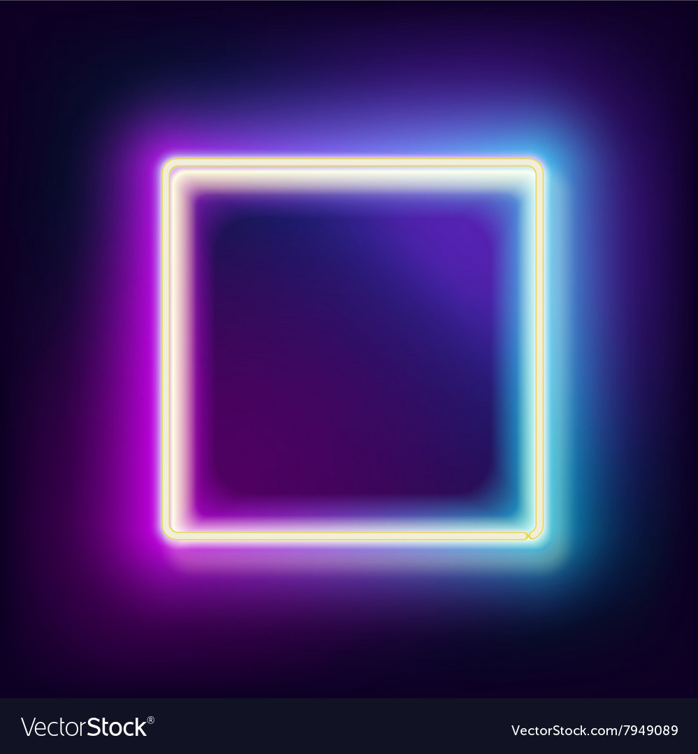 Neon Lamp Lowing Electric Square Neon Lamp