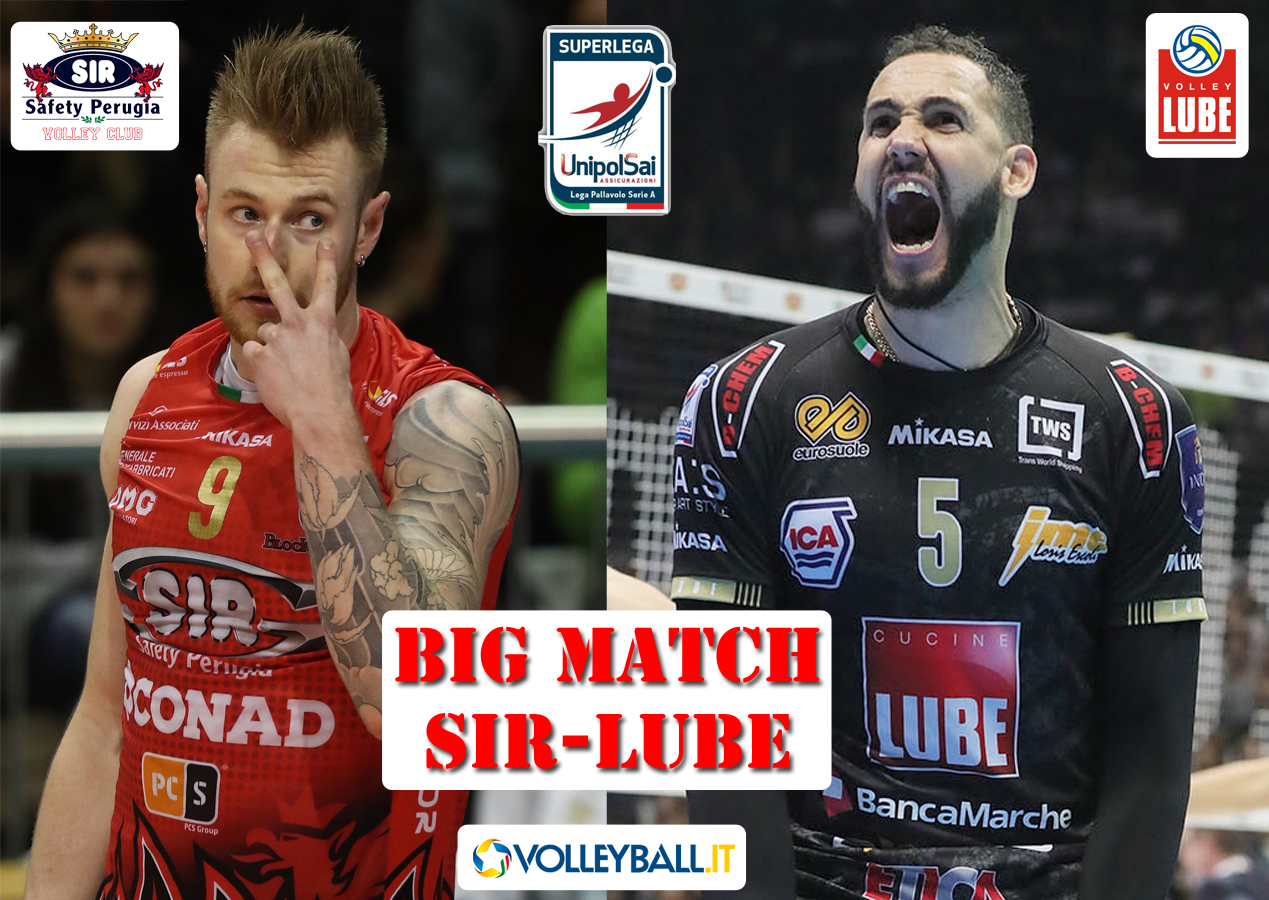 Cucine Lube Civitanova Zawodnicy Superlega A1 Perugia Civitanova Verona Modena I Big