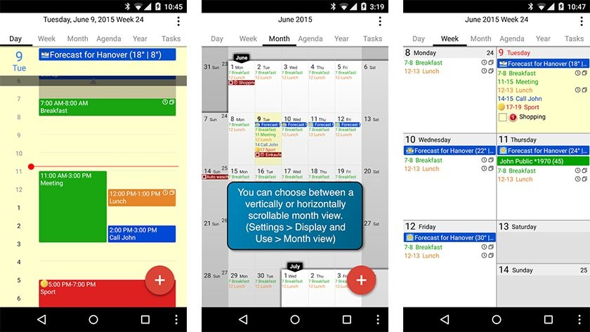 10 best calendar apps for Android for 2018 - Android Authority