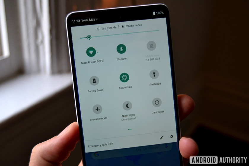 Android P beta 3 lets you manually switch between light and dark themes - p&l report template