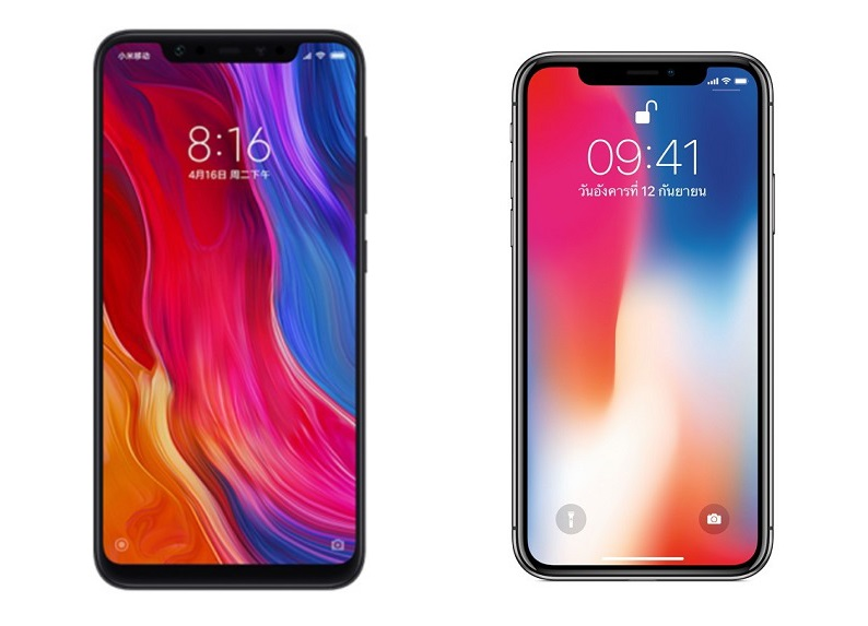 The Flash Iphone Wallpaper Xiaomi Mi 8 Is The Iphone X Clone Nobody Wanted How Did