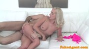 FakeAgent New model loves blowjobs and getting fucked doggy style