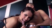 Gorgeous Rose pole dances and takes on Arpi s hard cock