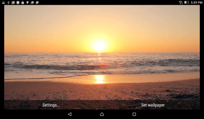 Sunset Beach Live Wallpaper | Download APK for Android - Aptoide