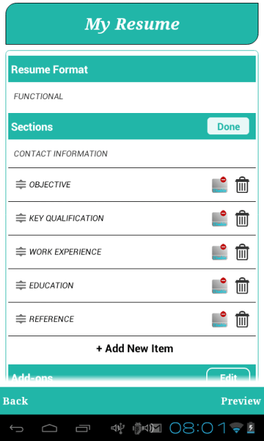 resume building app for android smart resume builder cv free download apk for android aptoide
