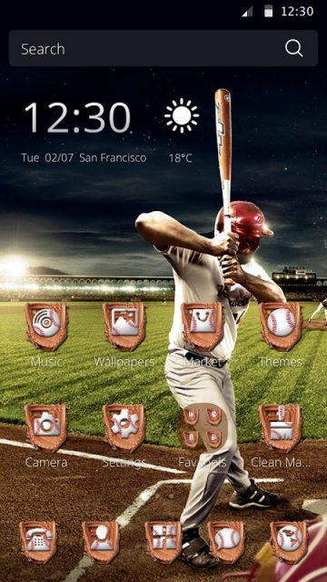 Cm Launcher 3d Wallpaper Apk Download Baseball Champion Theme For Cm Launcher Download Apk