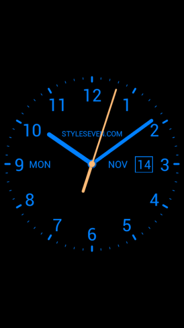 Analog Clock Live Wallpaper-7 | Download APK for Android - Aptoide