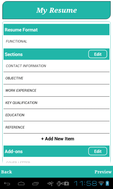resume builder apk download best resumes curiculum vitae and