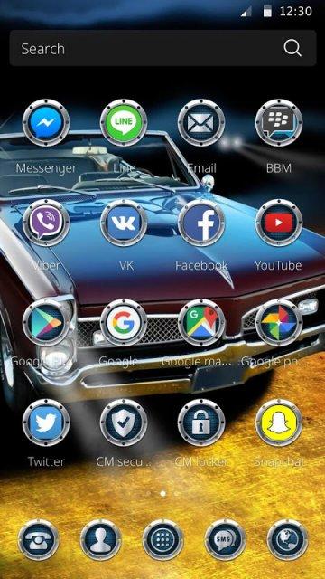 Cm Launcher 3d Theme Wallpaper Apk Download Muscle Car Theme For Cm Launcher Download Apk For
