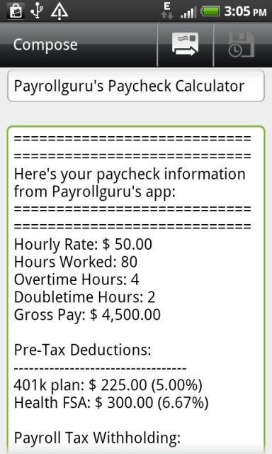 Pay Tax Gross Pay Tax Calculator - payroll tax calculator