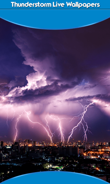 Thunderstorm Live Wallpapers | Download APK for Android - Aptoide
