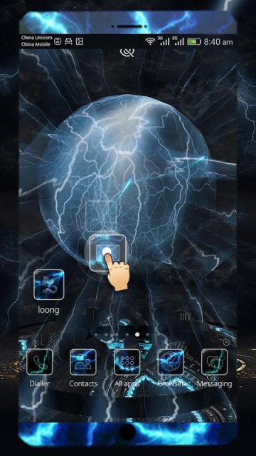 Cm Launcher 3d Theme Wallpaper Apk Electric Thunder 3d Theme For Cm Launcher Download Apk