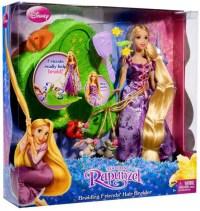 Disney Tangled Braiding Friends Hair Braider Doll Mattel ...