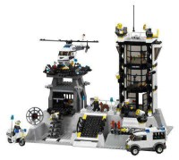 LEGO City Police Station Set 7237 - ToyWiz