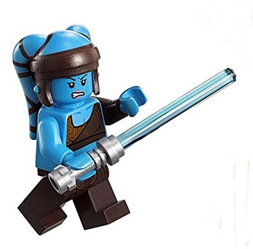 Lego Aayla Secura Minifigure With Lightsaber The Brick