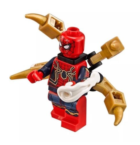 Lego Superheroes Iron Spider Man 76108 The Brick People