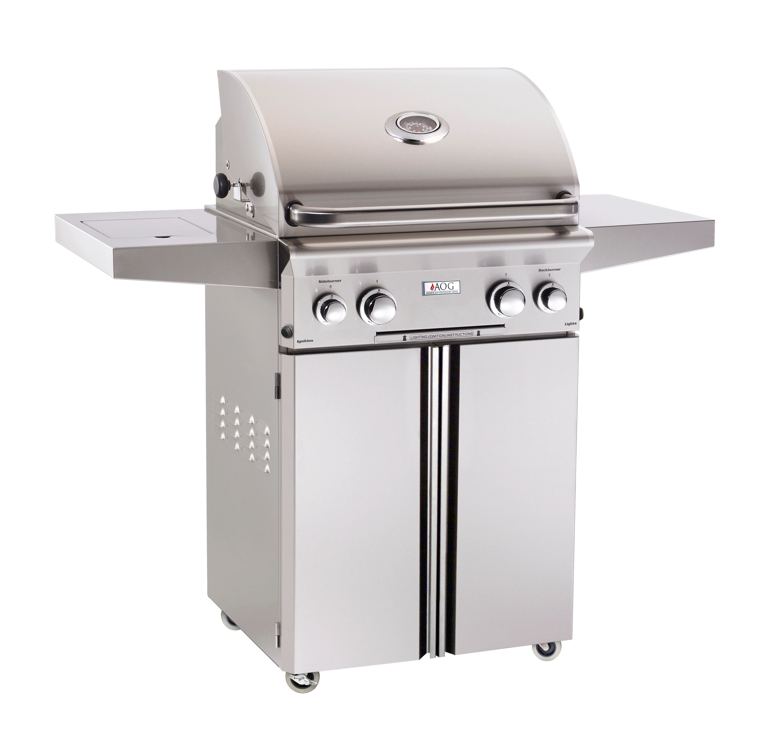 Small Barbecue Grill American Outdoor Grill 24